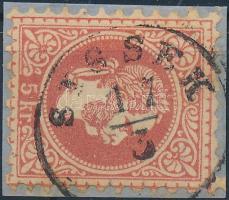 "Austria-Hungary-Croatia postmark ""SISSEK"" ""SISSEK"""