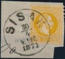 """SISAK / VEC"" Austria-Hungary-Croatia postmark ""SISAK / VEC"""
