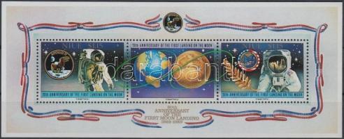 20th anniversary of the moon landing block, A Holdra lépés 20. évfordulója blokk