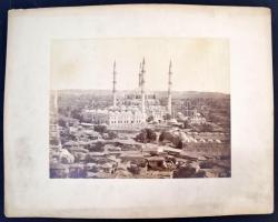 cca 1880 Törökország, Edirne Selim mecset és környéke nagyméretű fotó / cca 1880 Turkey Edirne Selim mosque large photo 46x34 cm