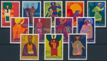 1967-1968 Védőszentek sor, 1967-1968 Patron set