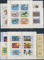 1979-1990 5 db kisív és 3 blokk 2 stecklapon