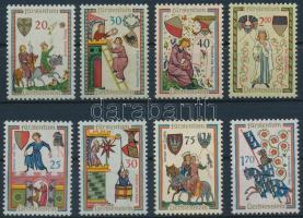 1962-1963 Trubadúr énekek (II-III.) sor, 1962-1963 Troubadour songs (II-III) set