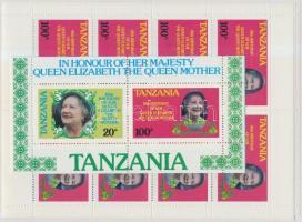 Queen Elizabeth minisheet set + block pair, Erzsébet királynő kisívsor + blokkpár
