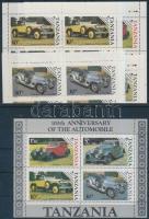 Centenary of Car mini sheet set + block, 100 éves az autó kisívsor + blokk