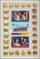 1977 II. Erzsébet királynő blokk Mi 1