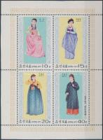 Traditional costume minisheet, Népviselet kisív