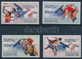 1983 Nyári olimpia sor Mi 801-804