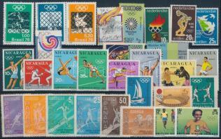 Olympics 13 diff sets, Olimpia motívum 13 klf sor 2 stecklapon