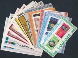 Tanzania 16 blocks, Tanzánia 16 db motívum blokk