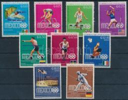Summer Olympics medalists set, Nyári olimpia érmesei sor
