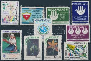 1987-1994 10 db bélyeg közte 1 teljes sor