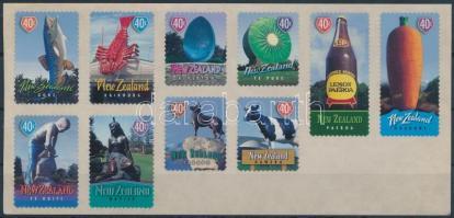 Attractions self-adhesive stamp foil, Nevezetességek öntapadós bélyegfólia