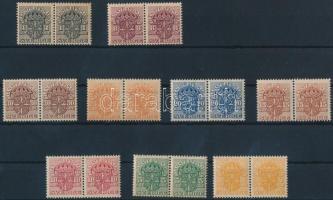 1910-1919 9 klf hivatalos érték párokban