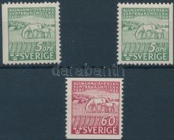 Agricultural 3 stamps from set, Mezőgazdaság sor 3 értéke
