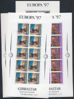 1997 Európa CEPT: Mondák és legendák kisívsor Mi 783-786