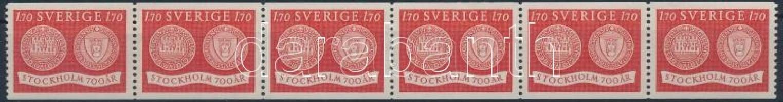 Stockholm stripe of 6, Stockholm hatoscsík