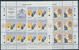1997 Európa CEPT: Mondák és legendák kisívsor Mi 1012-1013
