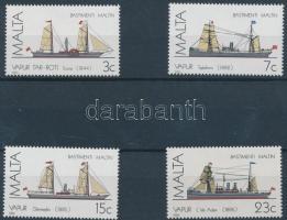1985 Málta-i hajók sor Mi 739-742