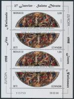 1998 Europa CEPT: Nemzeti ünnepek és fesztiválok kisív Mi 2403