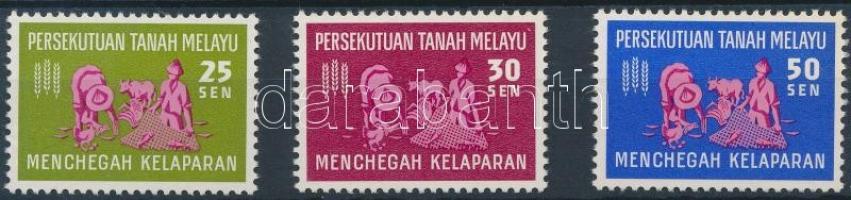 VI Szövetség 1963 Küzdelem az éhezés ellen sor Mi 32-34