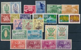 Fight against hunger common issue of 10 countries 25 stamps, Küzdelem az éhezés ellen kampány 10 klf ország közös kiadása 25 klf bélyeg
