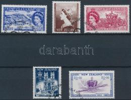 Queen Elizabeth II. set, II. Erzsébet királynő koronázásának 50. évfordulója sor