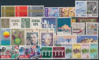 Malta, Europa CEPT 13 diff sets, Málta, Europa CEPT motívum 13 klf sor