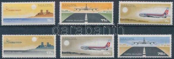 1978 Repülőgépek sor Mi 574-579