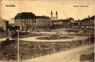 Szabadka, Szent István tér / Square (Rb)