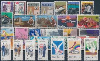 1981-1984 9 sets, 1981-1984 9 klf teljes sor