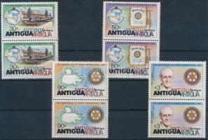 1980 Rotary sor párokban Mi 577-580