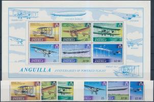 1979 Wright fivérek repülésének évfordulója sor Mi 353-358 + blokk Mi 26