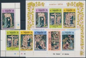 Monastery margin set + block, Kolostor ívsarki sor + blokk