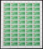 1972 Kenyér a világnak 50-es teljes ív Mi 751