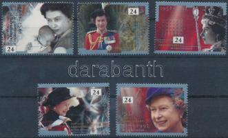 1992 II. Erzsébet trónra lépésének 40. évfordulója sor Mi 1387-1391