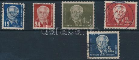 1950 Forgalmi sor Mi 251-255