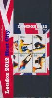 2005 London 2012: Nyári Olimpiai Játékok blokk Mi 26 díszcsomagolásban