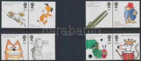 2006 Mesefigurák 4 párból álló sor Mi 2366-2373