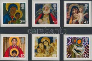 2005 Karácsony öntapadós sor Mi 2360-2365