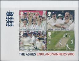 2005 Krikett blokk Mi 27