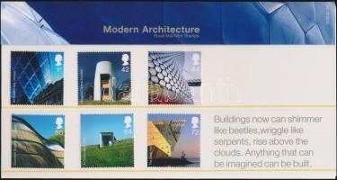 2006 Modern építészet sor Mi 2414-2419 díszcsomagolásban
