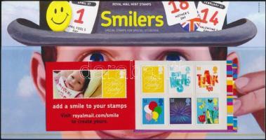 2006 Üdvözlőbélyegek bélyegfüzetben öntapadós bélyegekkel MH 0-296 díszcsomagolásban