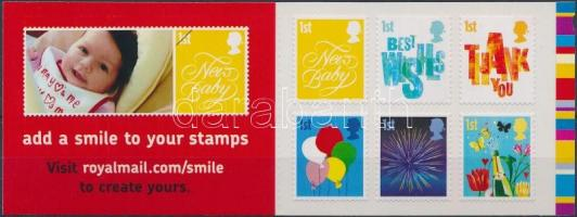 2006 Üdvözlőbélyegek bélyegfüzetben öntapadós bélyegekkel MH 0-296