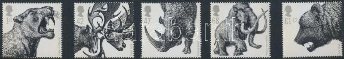 2006 Jégkorszaki állatok sor Mi 2391-2395
