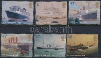 2004 Hajók sor Mi 2210-2215