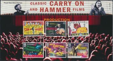 2008 Filmplakátok sor Mi 2652-2657 díszcsomagolásban