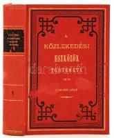 Csíkvári Jákó: A közlekedési eszközök története I. I. kötet. Reprint kiadás. Bp., 1986, ÁKV. Kiadói, foltos egészvászon-kötésben.