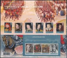 2008 Brit uralkodók sor Mi 2612-1217 + blokk Mi 43 díszcsomagolásban