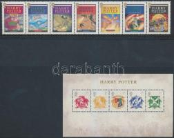 2007 Harry Potter hetescsík Mi 2535-2541 + blokk Mi 38